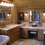 Custom Alder Master Bath