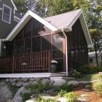 Screen porch in Littleton MA