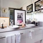 Drawers & towel racks in your vanity add tons of storage