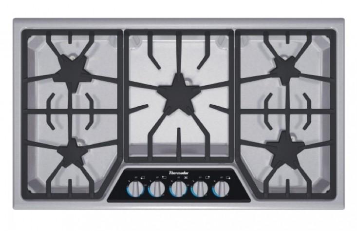 Thermador-Masterpiece-cooktop-SGSX365FS-Remodelista