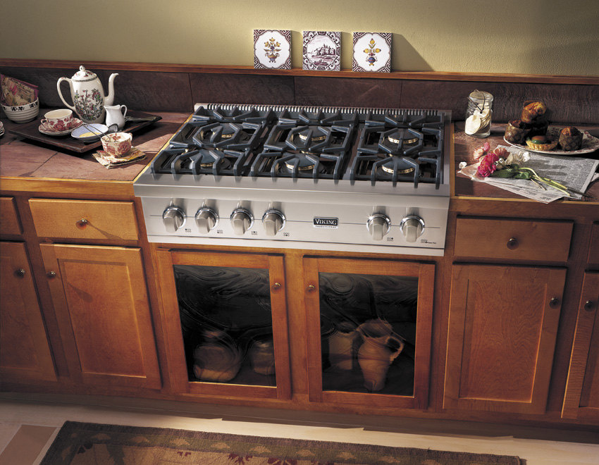 36-Inch Gas Cooktops | Acton Woodworks